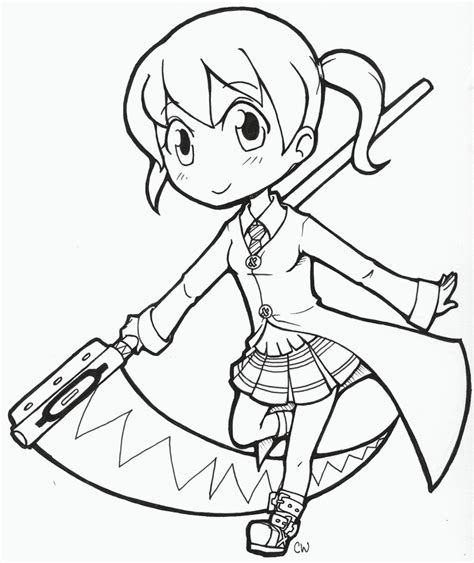 maka soul eater coloring pages coloring pages