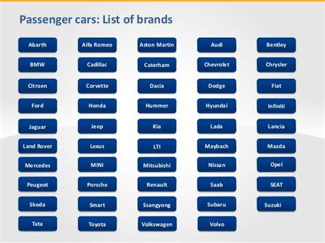 list of car brands car brands list driverlayer search engine