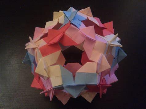 Origami F 16 - oriro kusudama by adina paun tutorial http forum