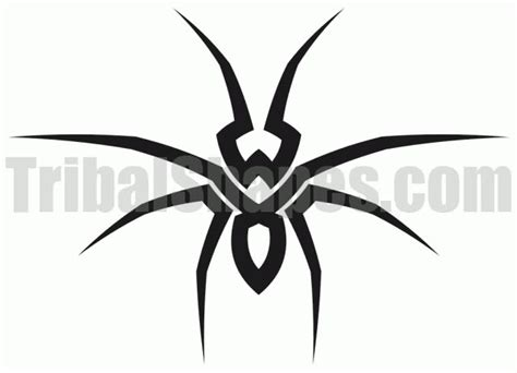spider tribal tattoos tribal spider logo www imgkid the image kid has it