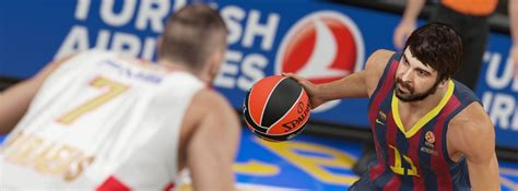 Turkish Bascketball Mba Player by Nba 2k15 Updated With 80 New Turkish Airlines Euroleague