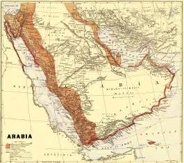World Map Circa 1900 by Maps Of Arabia About 1900 Mapa Owje Com