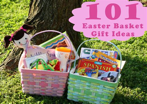 easter basket ideas 101 kids easter basket ideas the mom creative