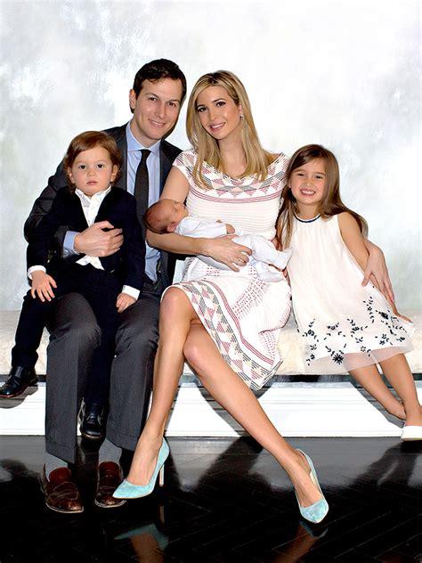 trump family photos ivanka trump shares first full family photo since son theo