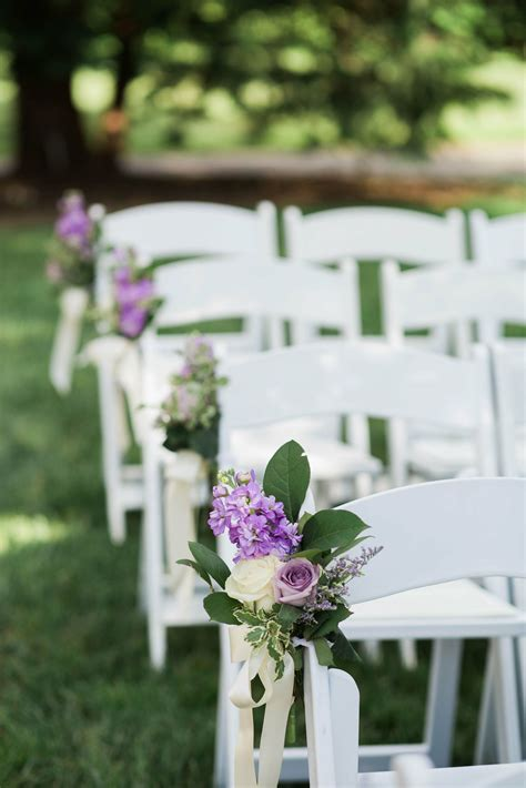 hydrangea  rose aisle decorations