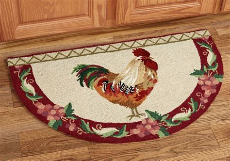 Rooster Accent Rugs For Kitchen Tedx Decors The Best