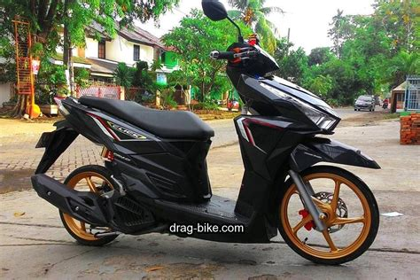 Honda Vario 150 Warna Hitam by 52 Modifikasi Vario 150 Jari Jari Esp Techno 125 Cbs Dan