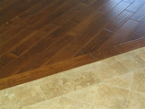hardwood to tile transition ideas tile to hardwood transition design home design ideas