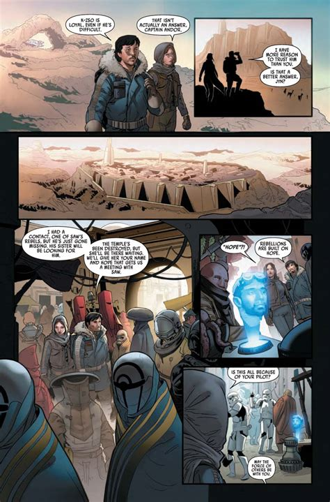 wars rogue one graphic novel adaptation books lit rogue one 1 6 comic book adaptation 2 6 released