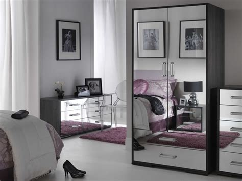 black mirrored glass bedroom furniture make your home