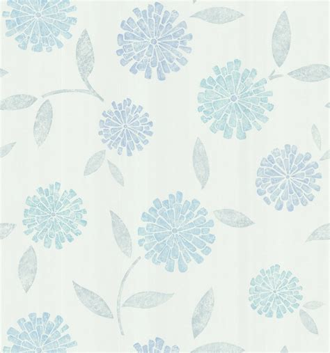 modern floral wallpaper aqua modern floral wallpaper contemporary wallpaper