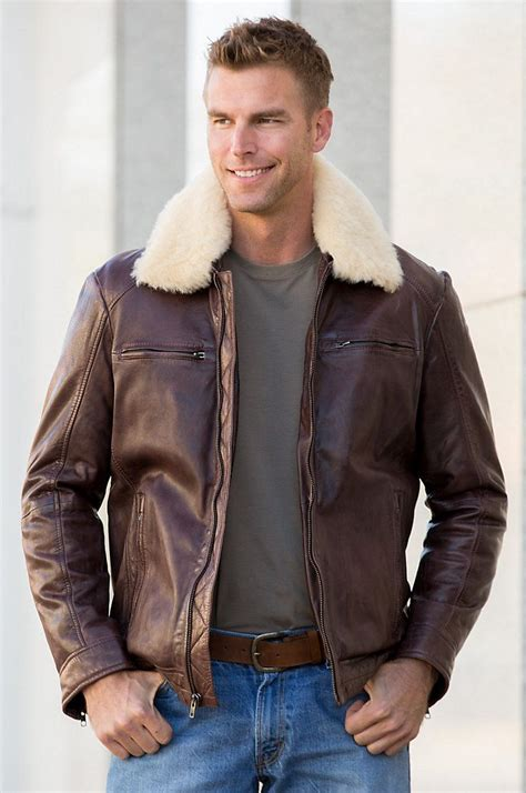 Jaket Bomber Wash Jaket Bomber B Jaket Bomber Jaket lambskin leather bomber jacket with removable shearling collar lambskin leather