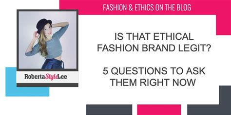 The Shop Voted Most Ethical Brand By Consumers by Is That Ethical Fashion Brand Legit 5 Questions To Ask