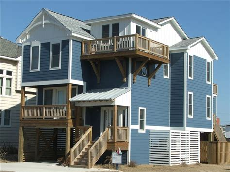 Kitty Hawk House Rental The Outrigger With All The Hawk House Rentals