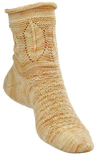 lemon pattern socks ravelry lemon leaves pattern by cat bordhi