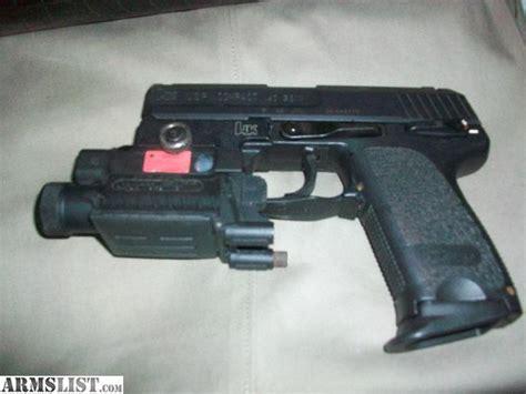 hk usp 40 holster with light armslist for sale hk usp 40 compact w laser laser