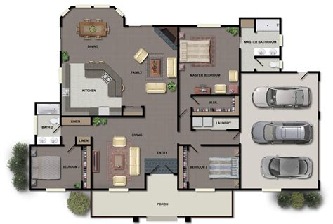 luxury floor plans with pictures modern house floor plans home design ideas u home design