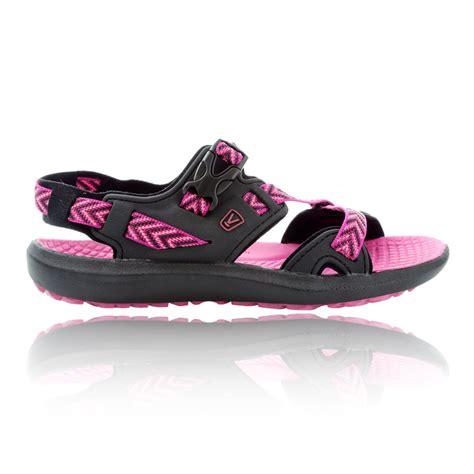 keen maupin s black pink summer shoes hiking walking