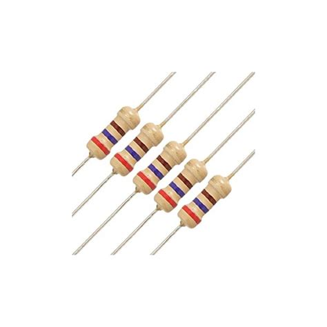 Resistor 10k 14w Carbon 5 2 7k 1 4w diren 231 sat箟n al uygun fiyat direnc net