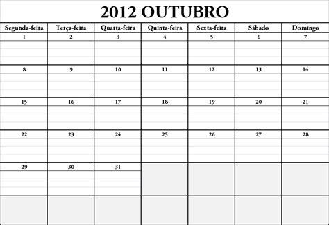 Calendario Q Porque O Rel 243 Gio N 227 O P 225 Ra Calend 225 Outubro De 2012