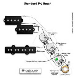 wiring diagram fender p bass images