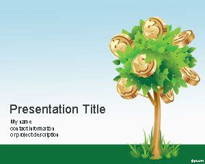 money theme for ppt free download money tree powerpoint template