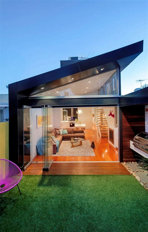 traditional victorian home transformed   glassy