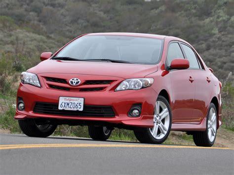 Toyota Corolla 2013 2013 Toyota Corolla Test Drive Review Cargurus