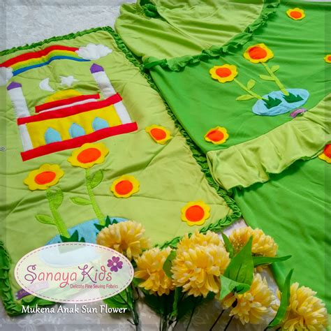 Kaos Great Thanks To Sun 532769 keunikan bordir flanel mukena anak sanaya
