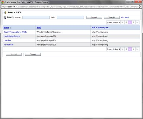 tutorial oracle service bus oracle service bus tutorial validate action dla web services