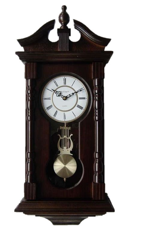 wholesale 34cm vintage silent round large wood kitchen wall clock wood wall clock on lake time wooden wall clock chaney