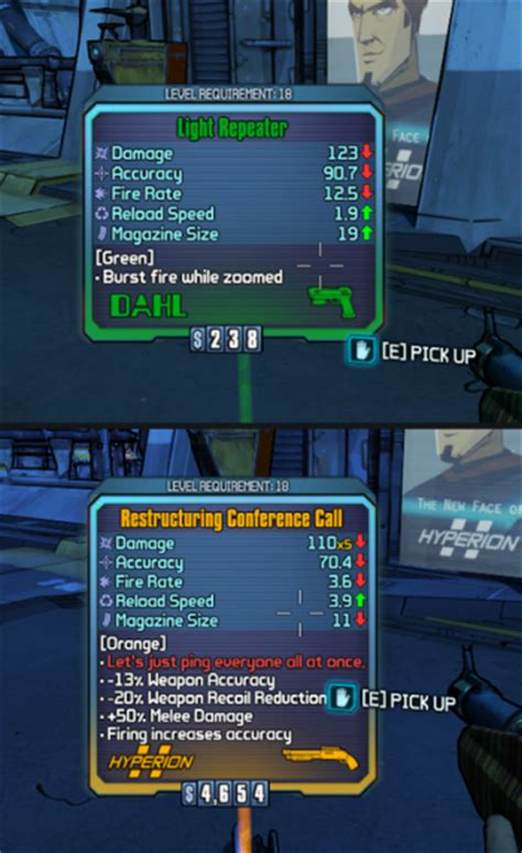 borderlands 2 color rarity borderlands 2 gets color blind friendly