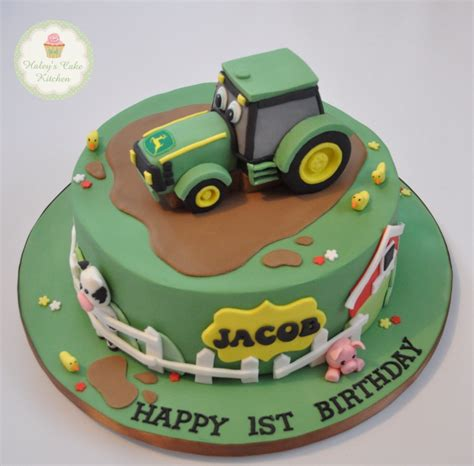 Hochzeitstorte Traktor by Deere Tractor Cake All For Cakes And