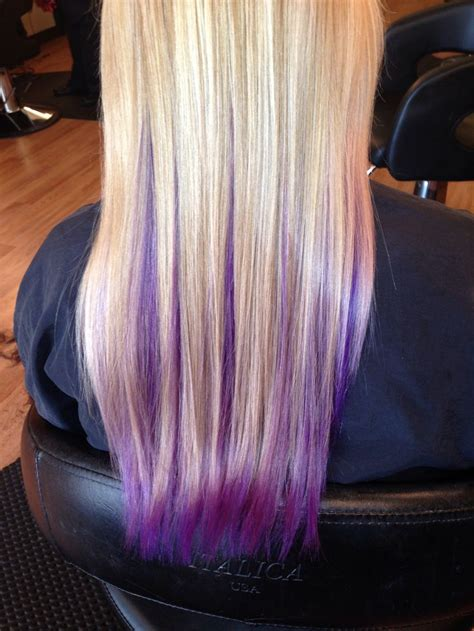 hair with purple streaks best 20 purple streaks ideas on colored hair