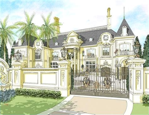 luxury chateau house plans for lovely remodel