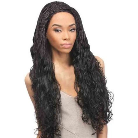 using sythetic brazillian hair for flat twist styles outre synthetic lace front wig brazilian braid lace