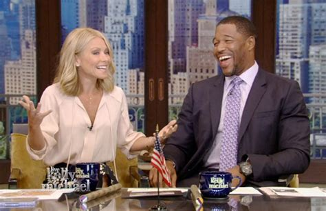 live with kelly michael live with kelly and michael is the week s no 2