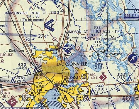 jacksonville sectional chart abandoned little known airfields florida northeastern