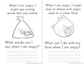 angry bird counseling worksheet rachael edwards