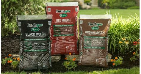 home depot scotts earthgro mulch 2 cu ft bags only 2 50