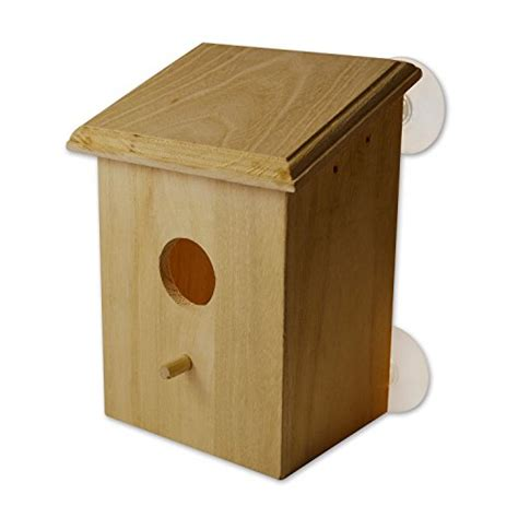 how quick to buy a house petsn all clear window bird nest box with perch bird