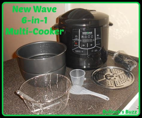 new wave kitchen appliances 6 in 1 multi cooker by new wave appliances save time and