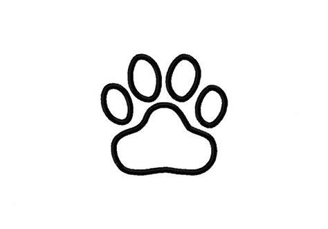 coloring pages of paw prints tiger paw print coloring page coloring pages