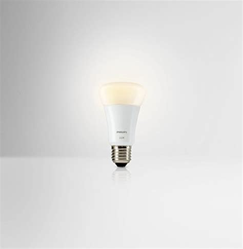 philips a19 dimmable led l philips hue a19 60w equivalent dimmable led smart bulb