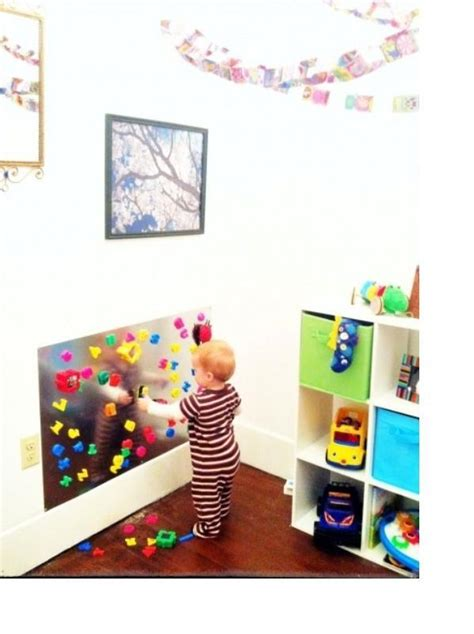 10 cool ideas to use magnet boards in a room kidsomania