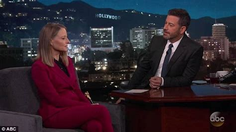 Winners From The Four Days Of The Foster Grant Pair A Day Giveaway by Jodie Foster Tells Jimmy Kimmel She Has Been Acting Since