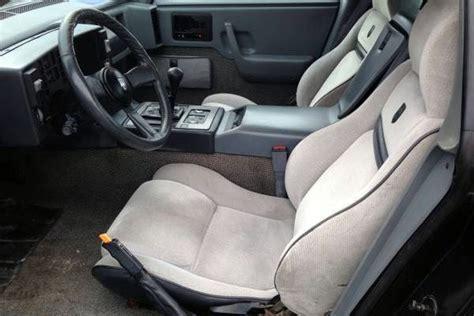 Pontiac Fiero Interior by 1987 Pontiac Fiero Gt Missed Opportunity