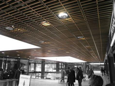 enrejado para techos panel enrejado de madera para falso techo lauder trameo