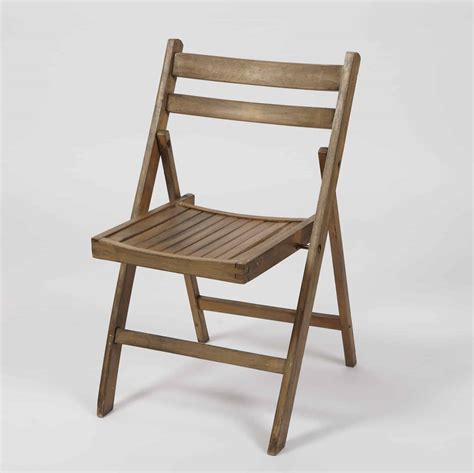 collapsible chair wooden folding chair