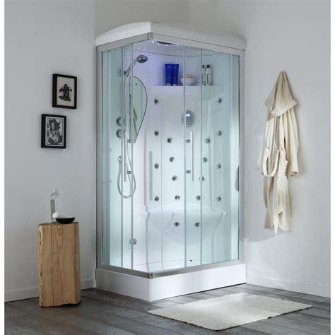 cabina doccia multifuzione angolare idromassaggio 70x90